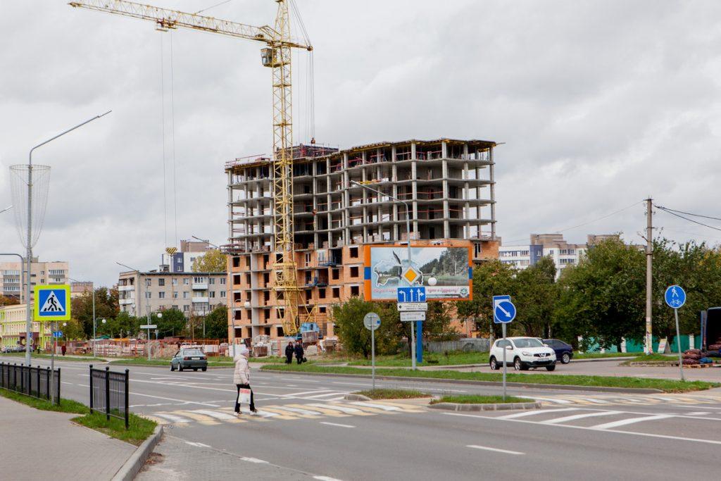 Как в Пинске преображается улица Брестская