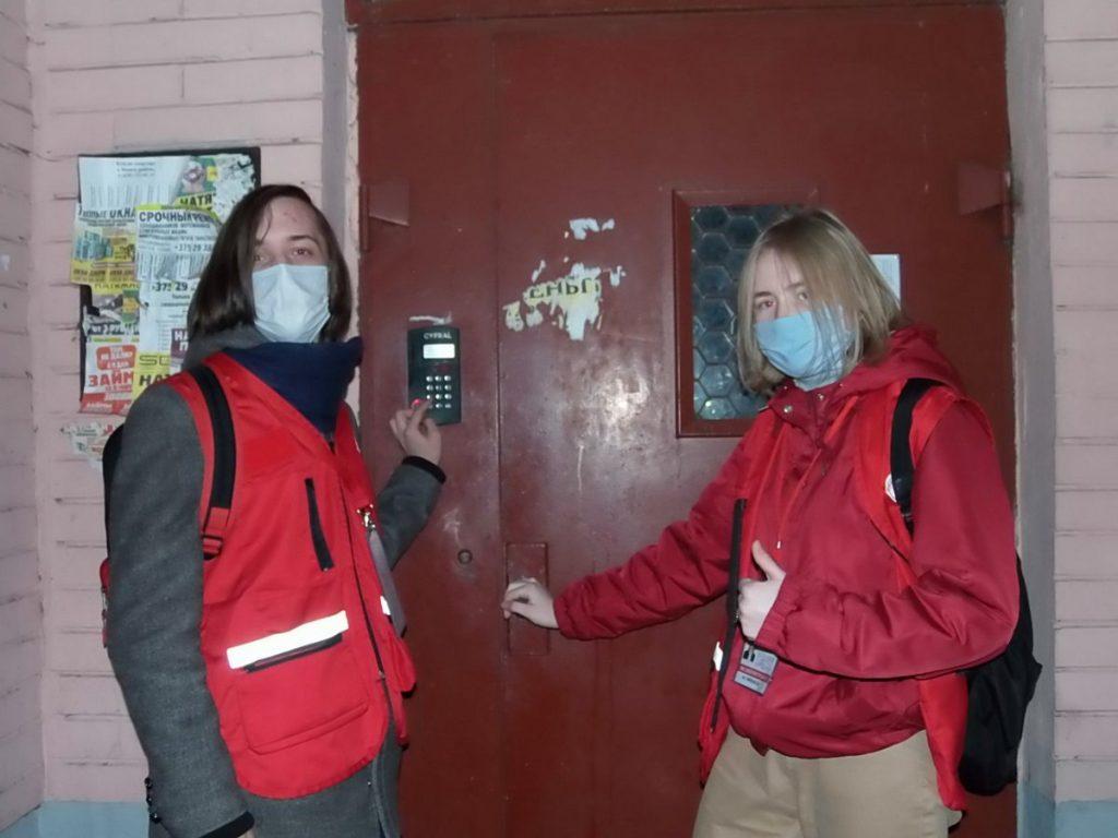 Волонтёры Красного Креста пришли на помощь пожилым пинчанам в эпидемию