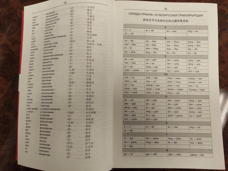 БГУ выпустил первый китайско-белорусский словарь