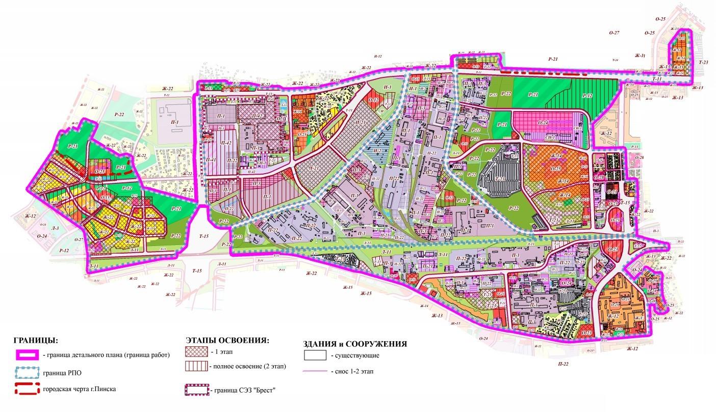 Новые жилые кварталы в Пинске
