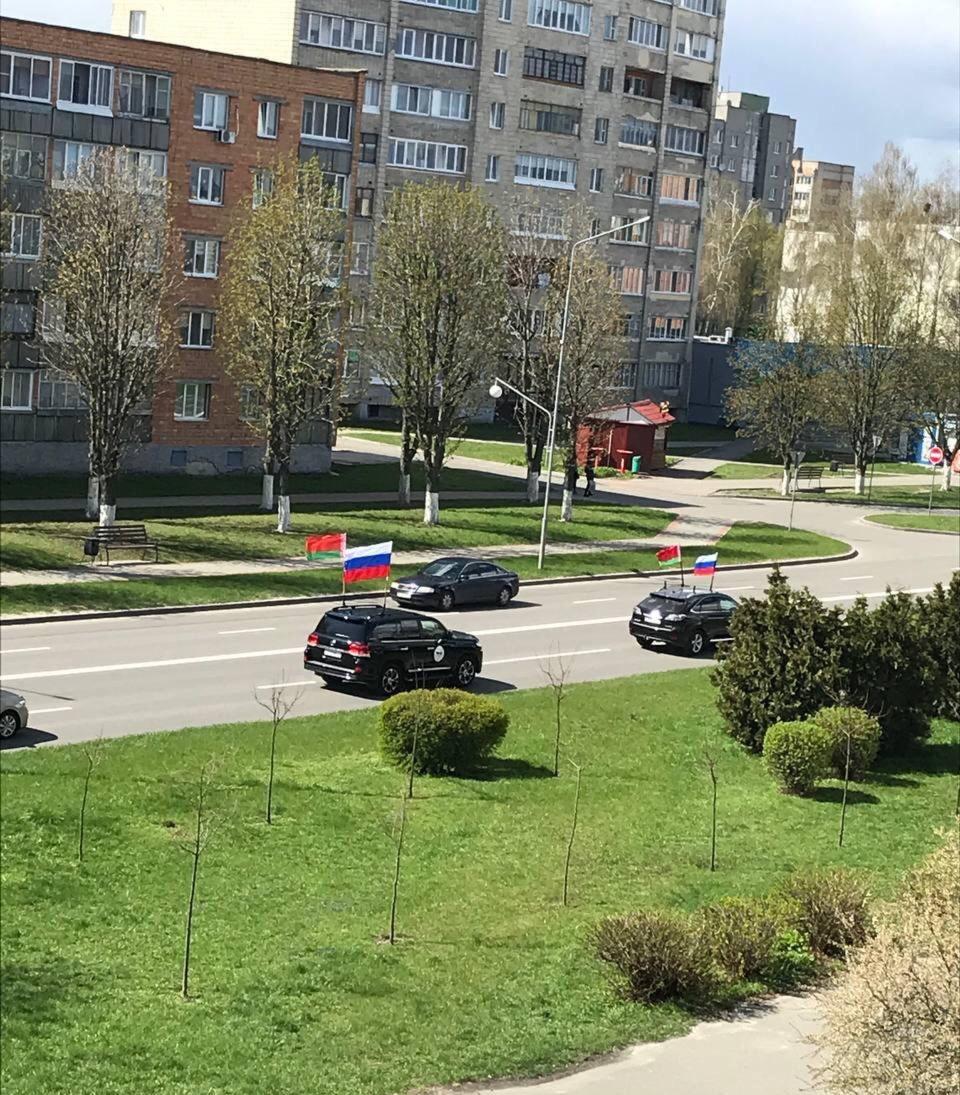 Не с любым государственным флагом автопробег разрешат в Пинске