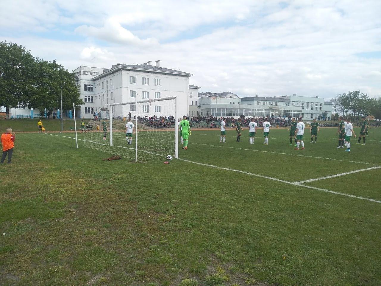 «Огуречники» открывают футбольный сезон в Пинске