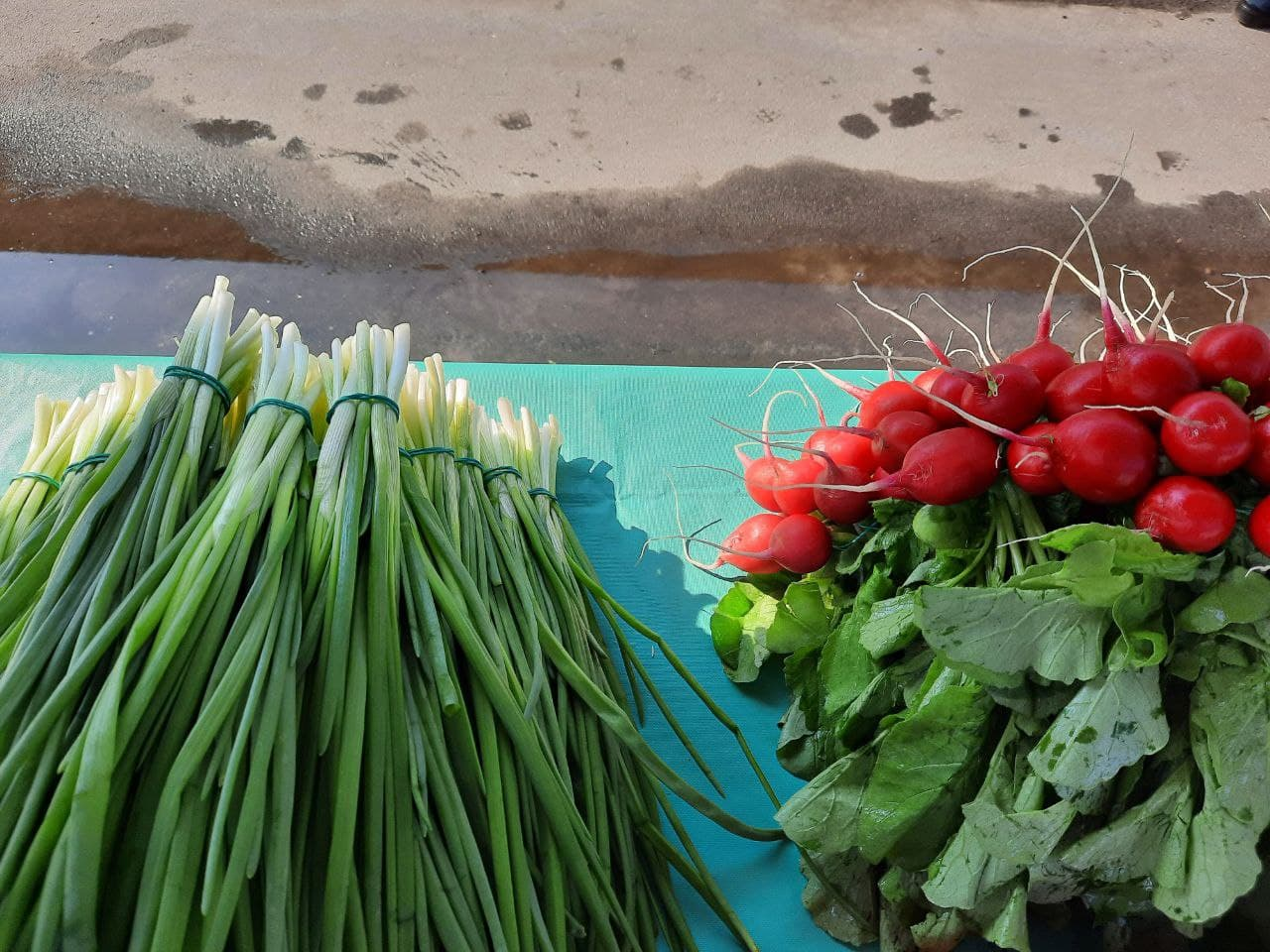 Почем редис на рынках в Пинске?