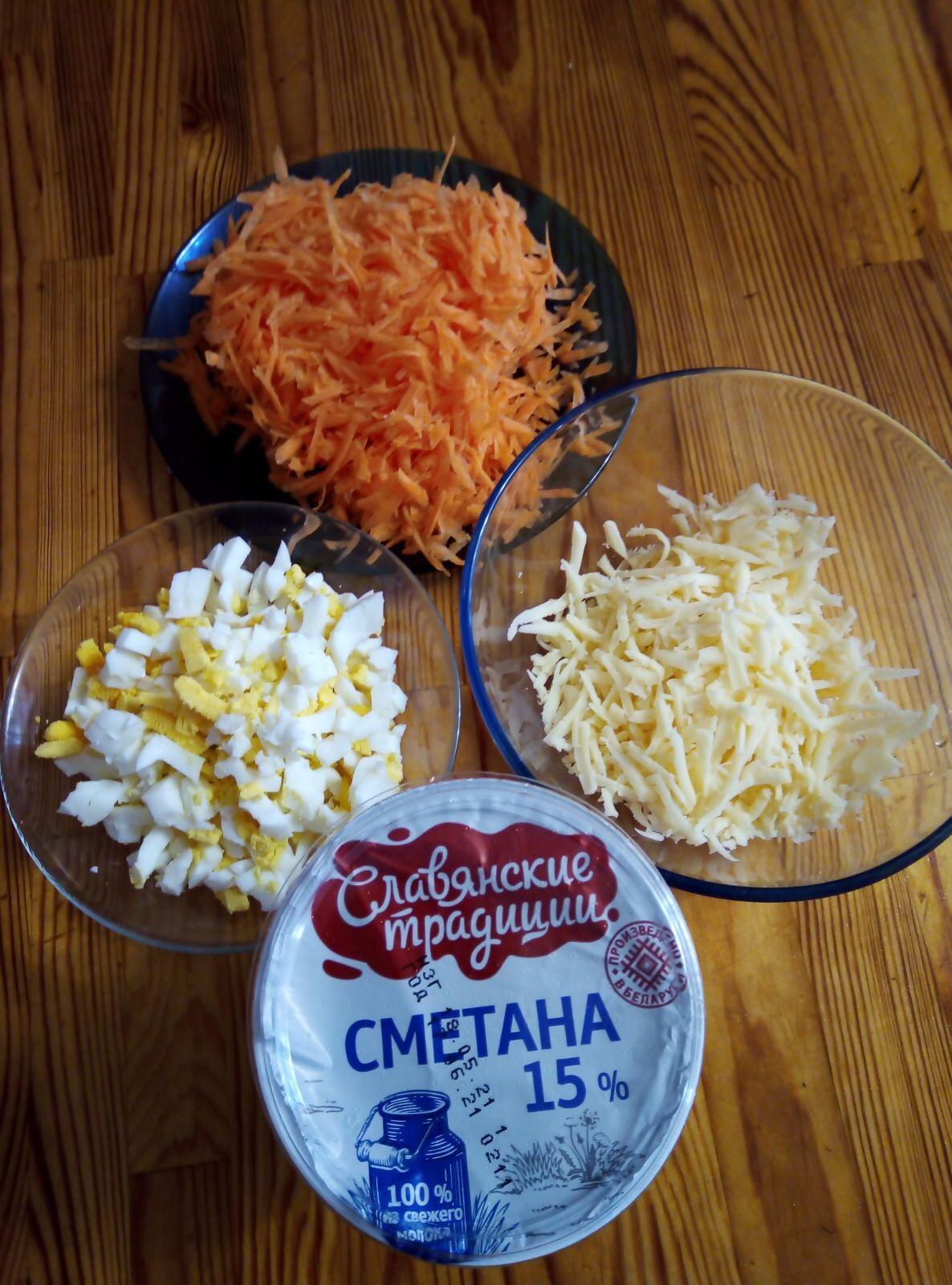 Витаминный салат для красоты и здоровья