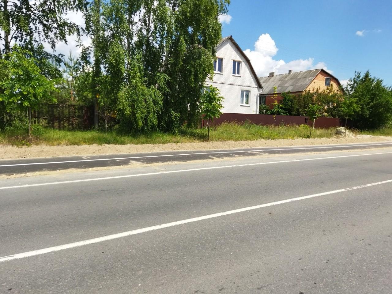 Новая велосипедная дорожка в Пинске. Фотофакт