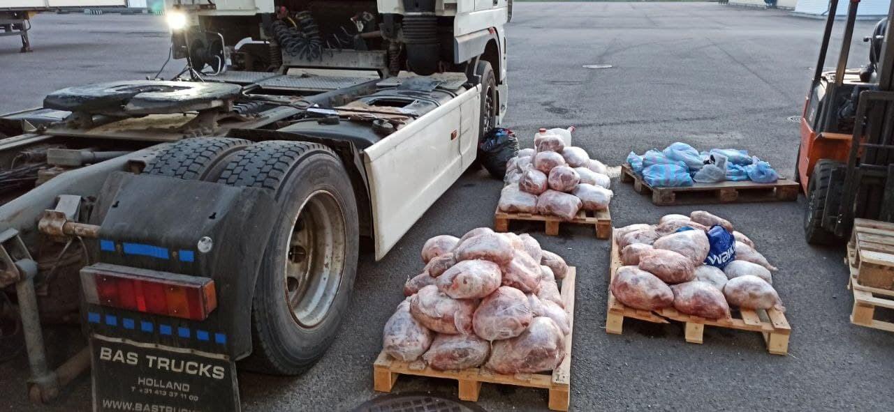 Мясо в Беларусь не пустили